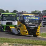 Le Championnat de France Camions FFSA fait sa rentrée à Nogaro ce week-end.