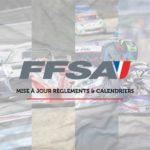 INFOS FFSA - Calendriers & Règlements FFSA 2020