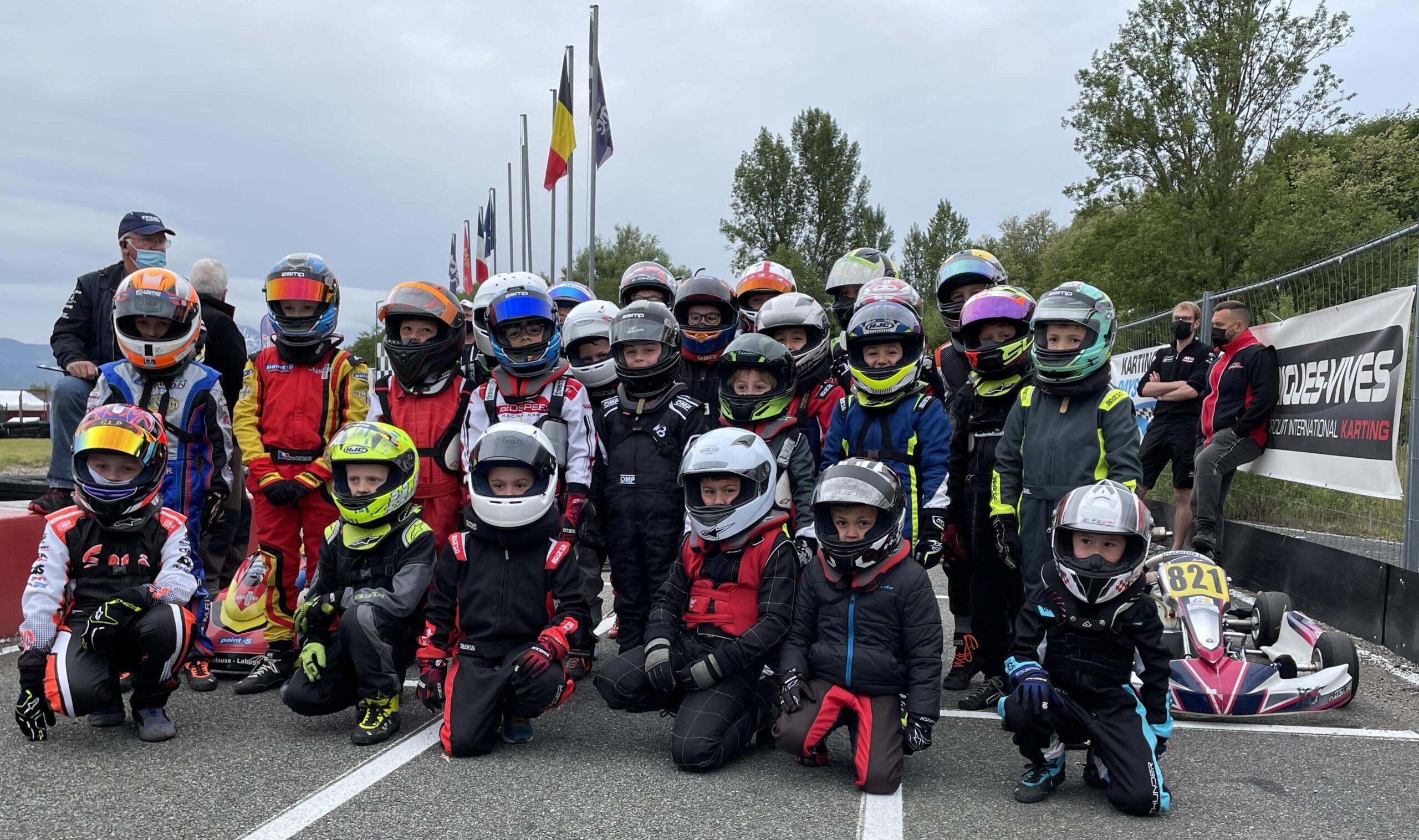 Karting - Minime - Championnat Sud 2021