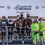 Mathieu DE BARBUAT sur la plus haute marche à Monza