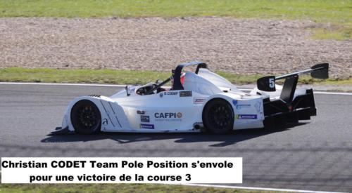 Christian Codet Team Pole Position s'envole pour une victoire en course 3