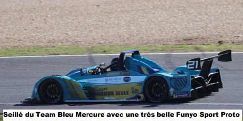Seillé du Team Bleu Mercure avec une très belle Funyo Sport Proto