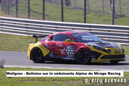 Wallgren-Beltoise sur la séduisante ALPINE du Mirage Racing