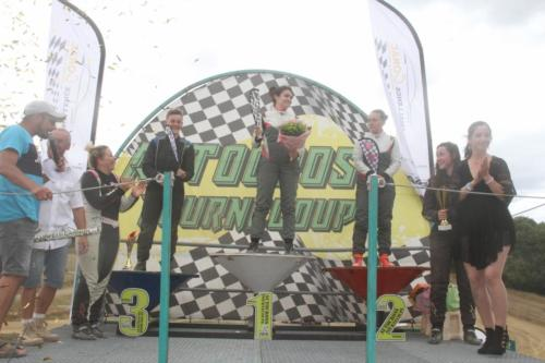 Podium sprint girl